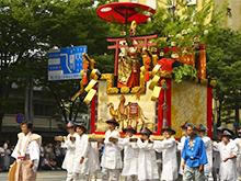 祇園祭「鈴鹿山」